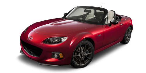 2014 Mazda MX-5 25th Anniversary pricing announced