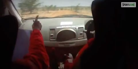 World's worst rally driver? Samir please...