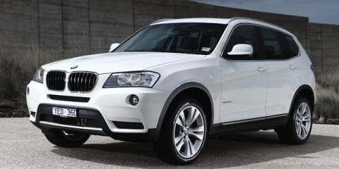 BMW X3 xDrive28i swaps inline six for turbo four