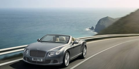 2012 Bentley Continental GTC coming to Frankfurt Motor Show