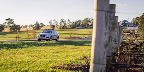 Touring the Hunter Valley in the Bentley Bentayga Diesel