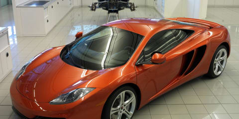 McLaren MP4-12C orders spill into 2013