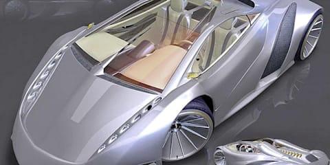 Lamborghini Miura II concept created by Latin counterpart