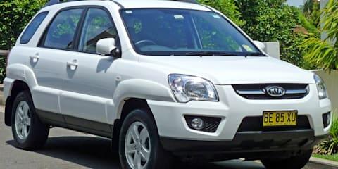 2008-09 Kia Sportage recalled for wiring fix