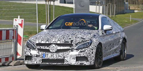 Mercedes-AMG C63 Coupe spied undergoing testing