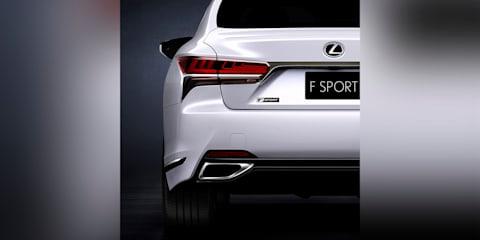 2018 Lexus LS F-Sport package to debut in New York