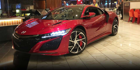 That time we followed a Honda NSX through a food court