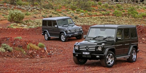 2011 Mercedes-Benz G 350 BLUETEC and G 55 AMG in Australia