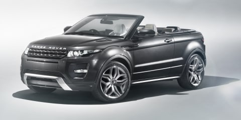 Range Rover Evoque Convertible confirmed for production