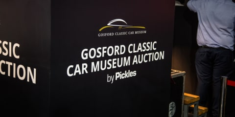 Australian muscle steals the show at Gosford Classic Car Museum auctions