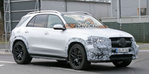 2019 Mercedes-AMG GLE53 spied