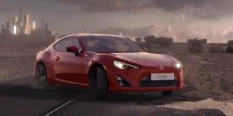 Toyota 86 ad pulled over dangerous driving