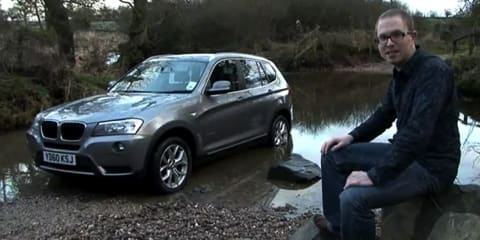 Video: 2011 BMW X3 review by Fifth Gear