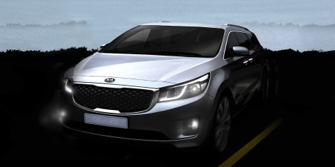 Kia teases next-generation people-mover