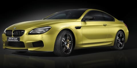 BMW unveils birthday-special M6 coupe for Japanese market