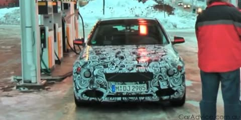 Video: New 2012 BMW 3 Series spied winter testing in Europe