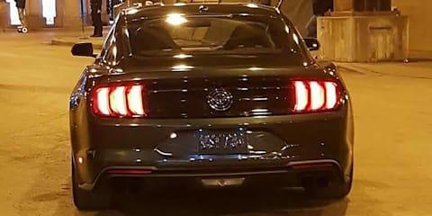 2018 Ford Mustang Bullitt spied during promo shoot