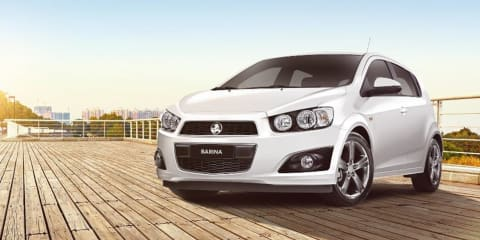2016 Holden Barina R: sporty RS-inspired edition launched