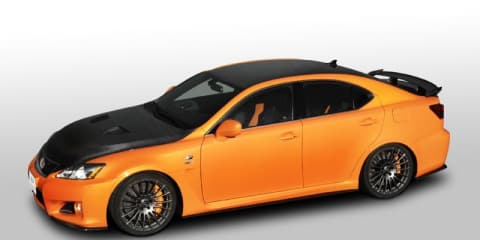 Lexus IS F Circuit Club Sports Concept at Tokyo Auto Salon