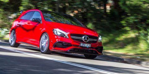 2019 Mercedes-AMG A45 could hit 300kW, lower-spec twin reported