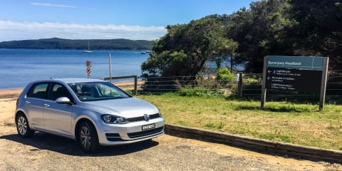 Sydney to Summer Bay day trip: Driving the Volkswagen Golf
