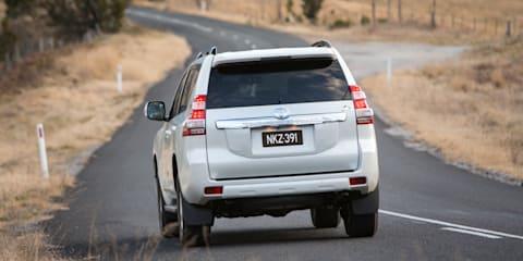 2014 Toyota LandCruiser Prado Altitude : Clean tailgate for special edition SUV