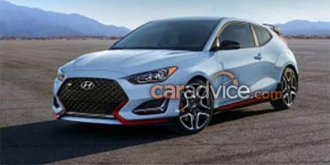 2019 Hyundai Veloster N revealed among leaked images