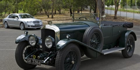Bentley celebrates eight decades at Melbourne Motor Show