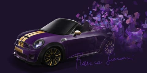 Mini Roadster by Franca Sozzani created for Life Ball charity