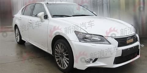 2012 Lexus GS spotted in China