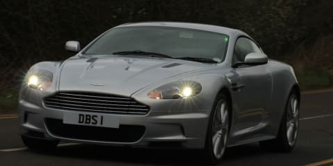 Full Throttle in an Aston Martin DBS