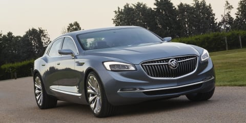 Buick Avenir : Holden-designed Caprice-sized sedan debuts