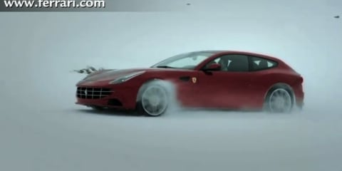 Video: Ferrari FF journey through all climates
