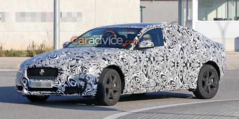 Jaguar XF update spied