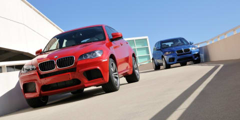 2009 BMW X5 M and X6 M revealed