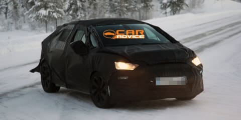 2011 Citroen DS5 spy shots