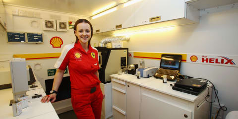 Shell, Ferrari technical partnership on track for 2010 F1 season