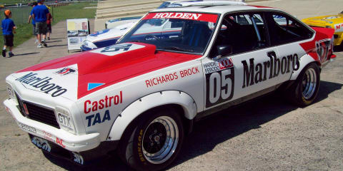 Motorsport greats to honour Holden at Motorclassica