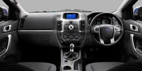 2011 Ford Ranger interior technology detailed