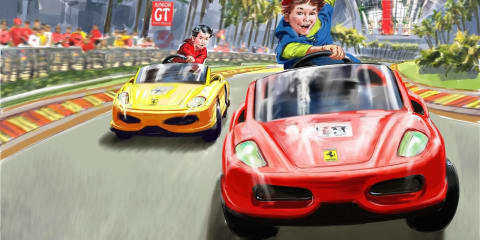 Ferrari World Abu Dhabi attractions revealed