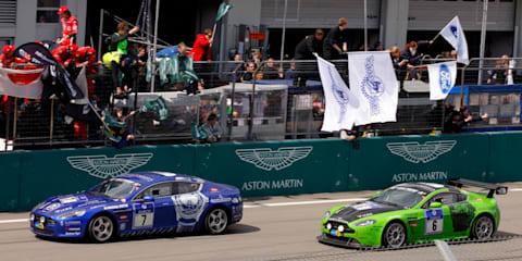 Aston Martin Racing claims double Podium at Nurburgring