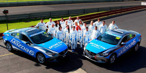 Mazda 6 racers readying for Australian Grand Prix battle
