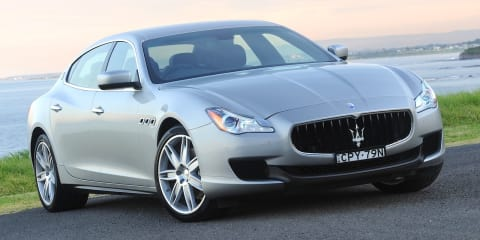 Maserati Quattroporte diesel dips below $200K