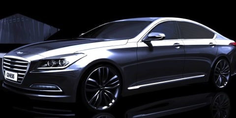 Hyundai Genesis set for Europe in 2014