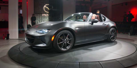 Mazda MX-5 RF hardtop revealed in New York