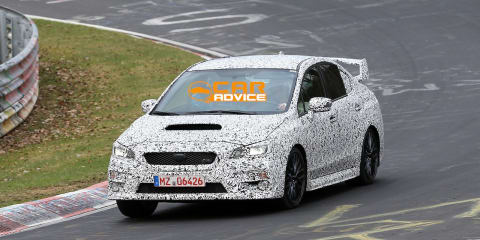 2014 Subaru WRX caught at Nurburgring!