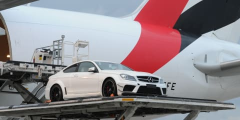 Mercedes-Benz C63 AMG Black touches down in Australia