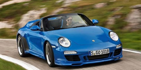 2011 Porsche 911 Speedster to hit Australian showrooms
