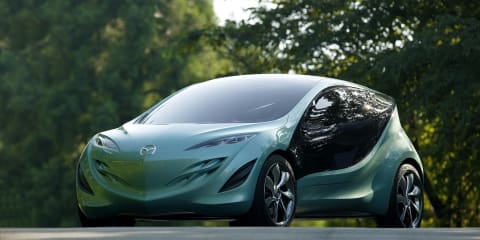 Mazda planning hybrids, plug-ins, EVs for the future