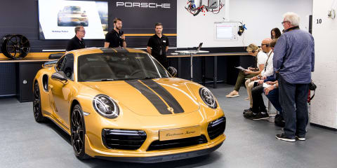 Porsche Exclusive Manufaktur ready to build the Porsche you desire